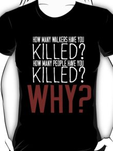 The Walking Dead Killer Questions T-Shirt