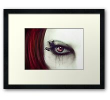 Butterfly Witch Framed Print
