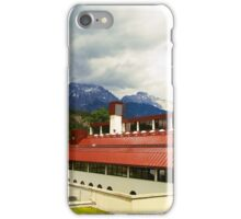 Famous ski-college in Stams iPhone Case/Skin