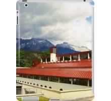 Famous ski-college in Stams iPad Case/Skin