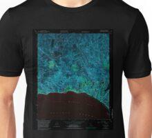 USGS TOPO Map California CA Topanga 295491 1952 24000 geo Inverted Unisex T-Shirt