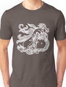 KIN - FEMALE ENERGY 01 - WHITE Unisex T-Shirt