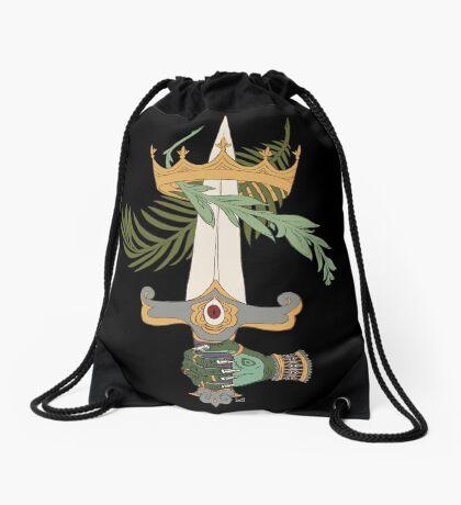 Ace of Swords Drawstring Bag