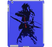 blue arrow iPad Case/Skin
