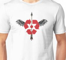 Sky Carrier Pigeon (RED) Unisex T-Shirt