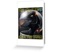 Psy-Crow Greeting Card