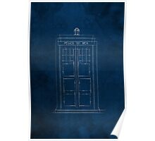 Doctor Who, Tardis (Colour) Poster