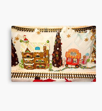 Gingerbread House Study 3  Canvas Print