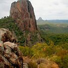 Crater Bluff with rocks by Michael Matthews