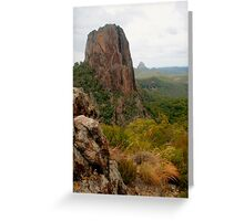 Crater Bluff with rocks Greeting Card