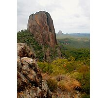 Crater Bluff with rocks Photographic Print