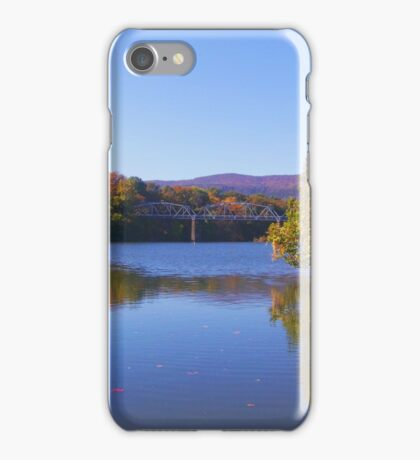 Bridge Over The Shenandoah iPhone Case/Skin