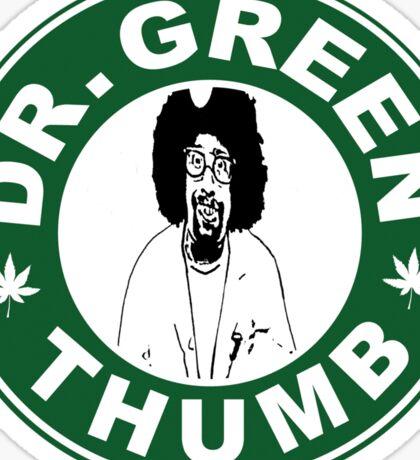 Dr. Green THumb Sticker