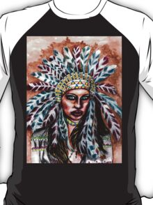 Lumbee Woman - Indian Native American T-Shirt