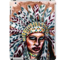 Lumbee Woman - Indian Native American iPad Case/Skin