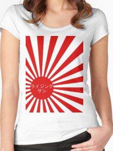 rising sun Women's Fitted Scoop T-Shirt