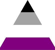 Asexual triangle flag by Margotte