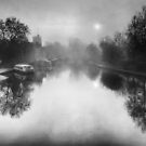 Misty Medway At Maidstone  by Dave Godden