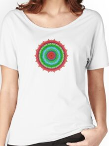 Sunset on the Rockies Mandala Women's Relaxed Fit T-Shirt