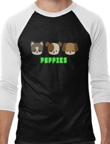 Puppies Men's Baseball ¾ T-Shirt