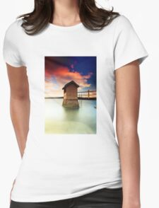 Pump  House  Womens Fitted T-Shirt