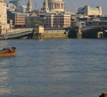Thames Skyline Sticker