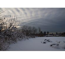 Clearing Snowstorm Photographic Print