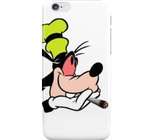 Goofy getting stoned iPhone Case/Skin