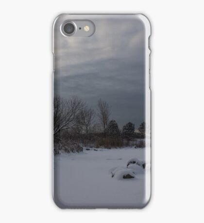 Clearing Snowstorm iPhone Case/Skin