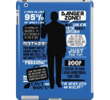 Archer - Sterling Archer Quotes iPad Case/Skin
