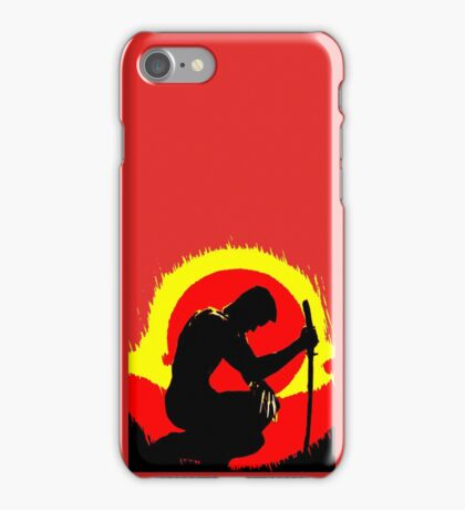 wolverinesunset iPhone Case/Skin