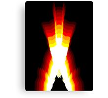 wolverine fire Canvas Print