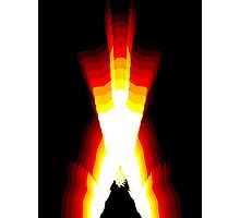 wolverine fire Photographic Print
