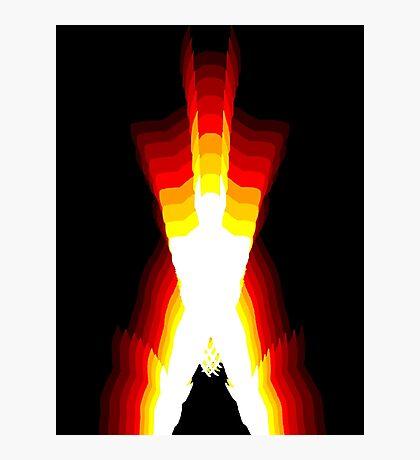 wolverine fire Photographic Print