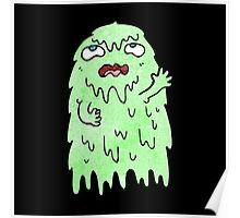 slimy ghost Poster