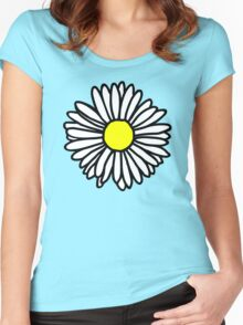 Daisy and Daisies Women's Fitted Scoop T-Shirt