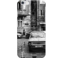 Quiet Streetscape In Sofia From Last Century iPhone Case/Skin