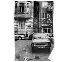Quiet Streetscape In Sofia From Last Century Poster
