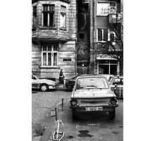 Quiet Streetscape In Sofia From Last Century Photographic Print