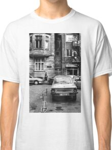 Quiet Streetscape In Sofia From Last Century Classic T-Shirt