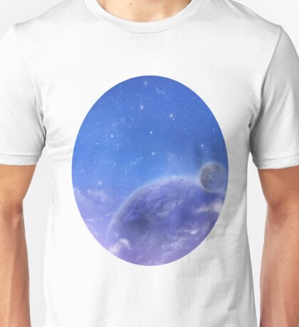 Moons in Evening Sky Unisex T-Shirt