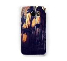 Organ pipes, Lincoln Cathedral Samsung Galaxy Case/Skin