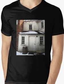 Window Panes Mens V-Neck T-Shirt