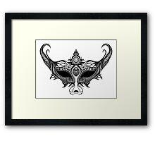 Venetian Wolf Framed Print