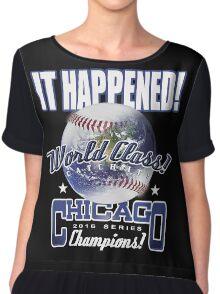 chicago world series Chiffon Top
