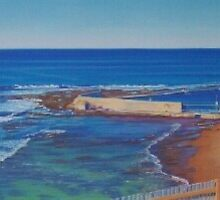 Cowrie Hole, Newcastle, NSW, Australia by Carole Elliott