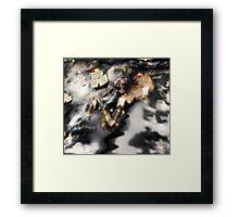 Lights from the Sea [ Fantasy Figure Illustration ] Framed Print