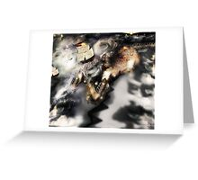 Lights from the Sea [ Fantasy Figure Illustration ] Greeting Card