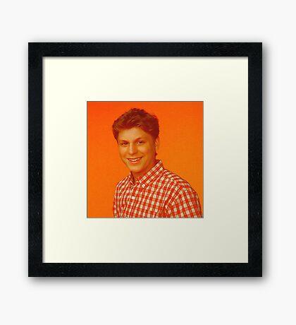 George Michael - Fan Art, Digital Painting Framed Print