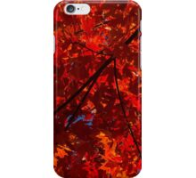 Red, Red and Red iPhone Case/Skin